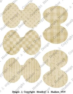 Cream Med Egg Bases Collage Sheet Set 2 Sheets 500 You Also Get The Green