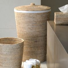 [New] The 10 Best Home Decor (with Pictures) - Our never outdated bathroom jewels . Rope Basket, Basket Weaving, Sisal, Grandmothers Kitchen, Bar Interior, Interior Design, Hotel Amenities, Rattan Furniture, Rustic Elegance