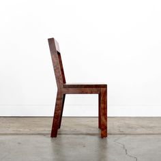 LOFT CHAIR. via The Cools I enjoy the simplicity of this chair's lines