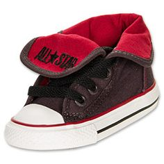 Boys' Toddler Converse Chuck Taylor Super High Casual Shoes        The Converse Chuck Taylor Super High Casual Shoes are the classic, all-American shoes that look just as good as they feel on tiny feet. Combining durability and style, these sneakers are sure to carry your little one wherever he wants to go.