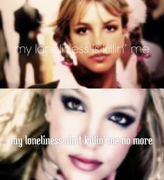 ...Baby One More Time/Stronger - Britney