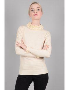 0e55ca0ca50 Fancy neck sweater - Molly Bracken E-Shop - Collection Printemps/Été 2018  Molly