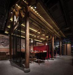 首发|水木言设计——孟非和黄磊开了家火锅店!_美国室内设计中文网