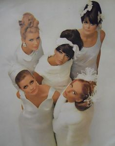 60s wedding fashion story image