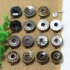 Spike Rivet, Spike Rivet direct from Xiamen Dumas Garments & Accessories Co. Studs And Spikes, Jeans Button, Make Color, Metal, Antique Brass, Jeans And Boots, Washer Necklace, Cufflinks, Buttons