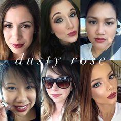 Dusty Rose www.senegence.com Distributor ID 204302 Facebook: Jess' Sassy Smooches. Email: jesstess79@hotmail.com