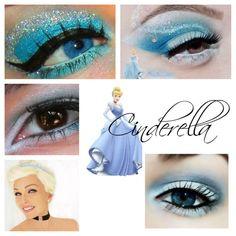 Cinderella makeup inspiration #1