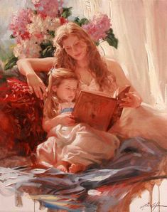 Bedtime Stories Story Book – One Before Bed Cherished Moments Morning Bath Little Boy Blue Summer's Ease End Of Day (Richard S. Johnson official site)