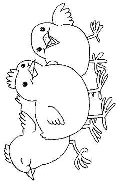 Pássaros imagem de impressão 94