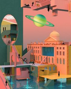 Tishk Barzanji is a visual artist based in London, United Kingdom. The work of Tishk Barzanji touches on the modernism movement, and surrealism. 2017 Wallpaper, New Retro Wave, Futuristic Art, Arte Horror, Metal Magazine, Wall Collage, Cover Art, Art Inspo, Art Photography
