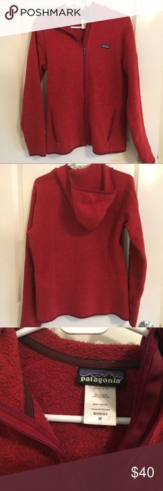 Patagonia Better Sweater Women's (M) Patagonia Better Sweater. Heathered red. Women's medium. Patagonia Jackets & Coats
