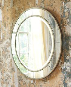 Modern History Round Eglimose Mirror