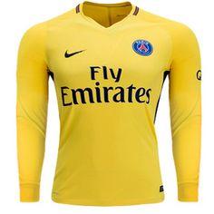 d5186e23ed5 PSG Exterieur ML 2017 2018 Paris Saint-Germain maillot de foot pas cher