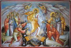 Christ Is Risen, He Is Risen, Odilon Redon, Byzantine Art, Orthodox Icons, Narnia, Fresco, Christianity, Mystery