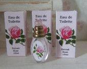 KIT ROSE Soap Shop ~Eau de Toilette with 3 Boxes~ Dollhouse Miniature 1inch Scale