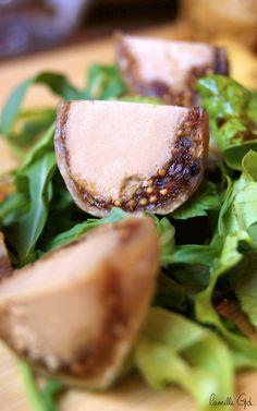 Tapas figues au fois gras au restaurant Le Mil'a, Paris 1
