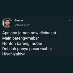 Quotes Lucu, Quotes Galau, Jokes Quotes, Funny Quotes, Need Quotes, Daily Quotes, Life Quotes, Coffee Quotes Funny, Wattpad Quotes
