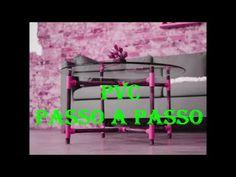 Mesa Redonda - PVC PASSO A PASSO. - YouTube