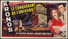 Kronos (1957). Aliens from another world send a huge robotic accumulator to invade the Earth and absorb all energy it comes in contact with.  www.ephemeritor.com