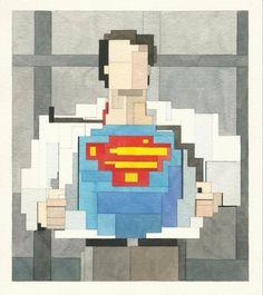 #Superman: Man of #Pixels! #ACBC15