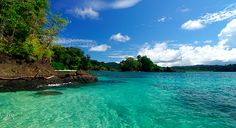 Pearl Islands, Panama.  Gorgeous and relaxing.  2 Chicagoans, add one Texan & a Canadian = good times!