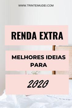 Renda Extra Online, Blog Love, Digital Marketing, Tips, Instagram, Money, Investing Money, Digital Marketing Strategy, Marketing Ideas