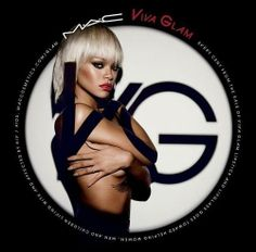 Rihanna's new M.A.C cosmetics VIVA GLAM ad #VIVAGLAM