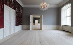 Pine flooring at Amalienborg Castle - Dinesen