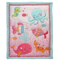 Carter's® Under the Sea 4-Piece Crib Bedding Set - buybuyBaby.com