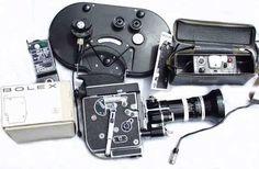 Bolex 16mm movie camera. A real classic.