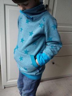 Sternenhoodie für Jungen von WaldundWiesenkinder auf DaWanda.com