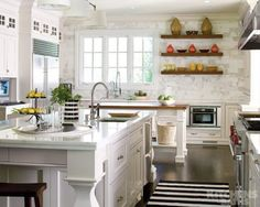 Interieurbouw: Trend: de witte keuken