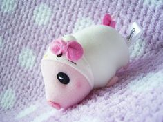 "Sanrio JAPAN Original HELLO KITTY x Monster Hunter Piggie Small Plush doll Charm : *Condition* NEW, Released by Sanrio JAPAN x CAPCOM in 2011, sold in JAPAN ONLY! Size - About 1.8"" x 3.3"" (4.5cm x 8.5cm) in height 21.99-28.99 (4.50/4.90/5.50)"