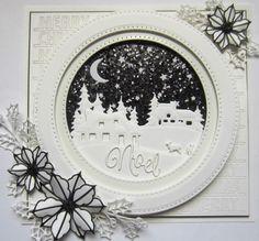 Sue Wilson Designs - Die - Festive Collection - Christmas Cottage Scenes More