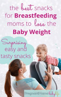 Surprising snacks that will help with fat loss after pregnancy! These foods are yummy, easy and perfect for new moms who are breastfeeding their baby's.