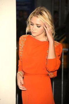 Love the bold orange color!