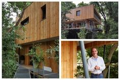 The story behind a 'treehouse' near Stroud, will feature on Kevin McCloud's Grand Designs this week. Chalford based architects Millar + Howard Workshop designed the home which will be showcased on...