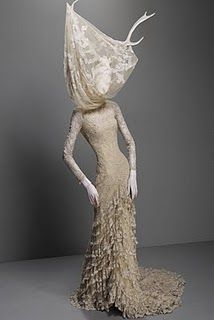 Alexander McQueen: Savage Beauty exhibition at the Costume Institute, Metropolitan Museum of Art.