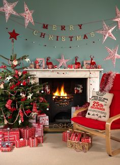 Nordic themed Christmas, Ideas and inspiration to decorate your home in a Nordic Theme this year. #HomebaseMumsnetXmas