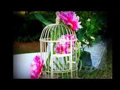 jaula con botella desechable adorno - YouTube