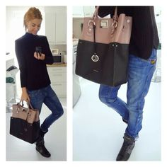 .@Regina Dukai | Saturday Look  Jumper: Zara, Denim: G-Star, Bag: Cango&Rinaldi, Shoes: YS... | Webstagram