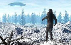 Bigfoot and UFOs   The Fortean Slip