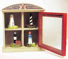 Miniature cabinets and displays