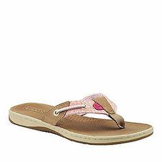 Sperry Top-Sider Women's Seafish Thong Sandals (FootSmart.com)
