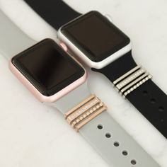 Cute Apple Watch Bands, Apple Watch Bands Fashion, New Apple Watch, Apple Watch Leather Strap, Apple Watch Accessories, Stainless Steel Jewelry, Stackable Rings, Fashion Watches, Jewels