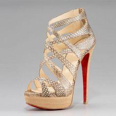 Christian Louboutin Shoes Latticework Shoe Fashion and Style |2013 Fashion High Heels|