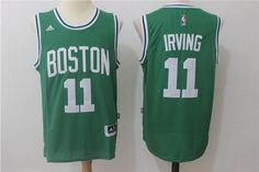 21 Men s Boston Celtics 11 Kyrie Irving Green Swingman Jersey New Boston f4793be53