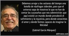 El gran Gabo.