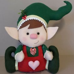 Elf, Christmas Ornaments, Holiday Decor, Cute, Felt Christmas Ornaments, Boy Doll, Christmas Home, Hand Art, Quilling