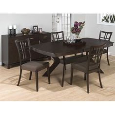 Jofran Ryder Counter Height Extendable Dining Table